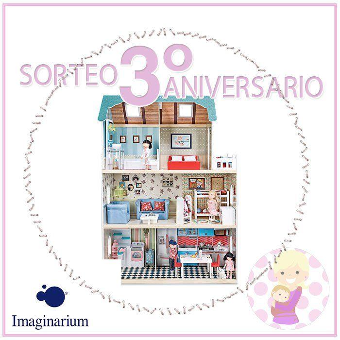 Casa de muñecas de madera de Imaginarium   CONCURSOS Y SORTEOS ...