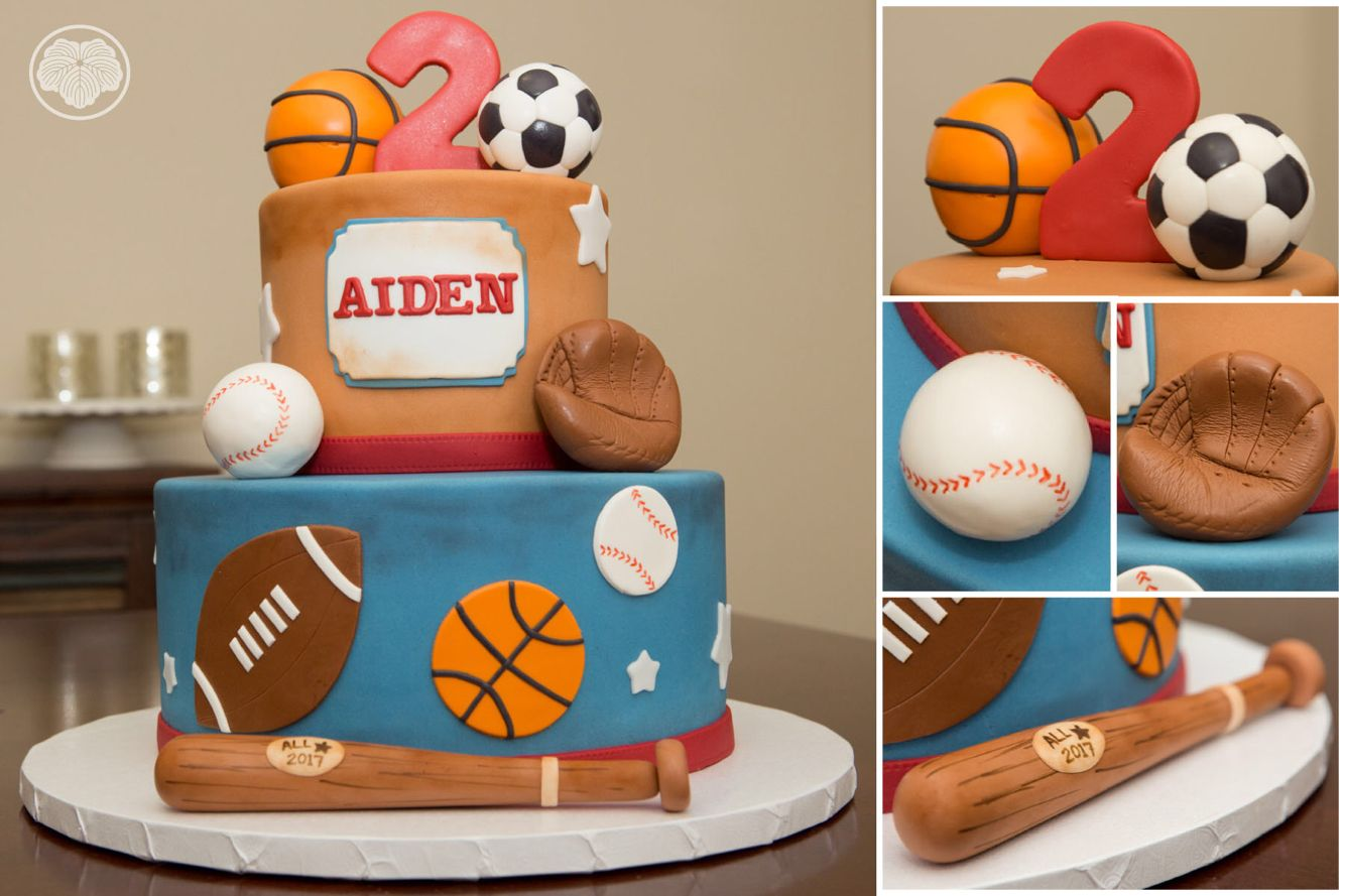 Sports theme cake custom cakes pinterest