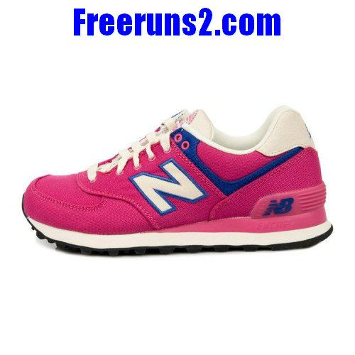 New Balance WL574RUP Rugger Pack Pink Blue White Womens Shoes