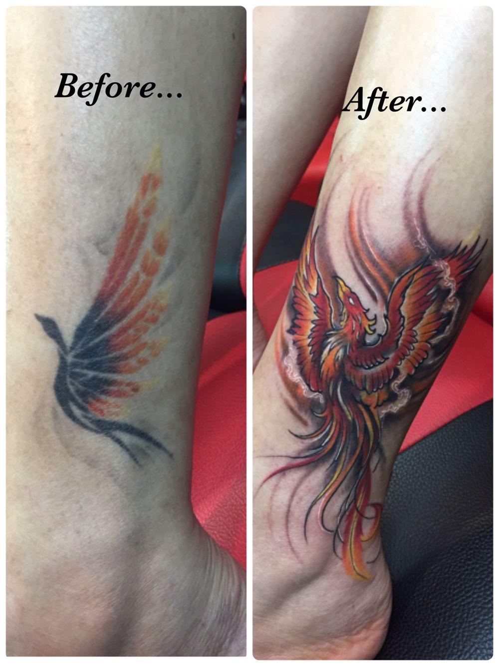 My new Phoenix tattoo