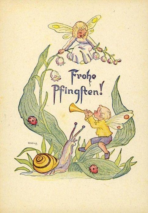 Fröhliche Pfingsten | Snails And Slugs | Fairy pictures ...