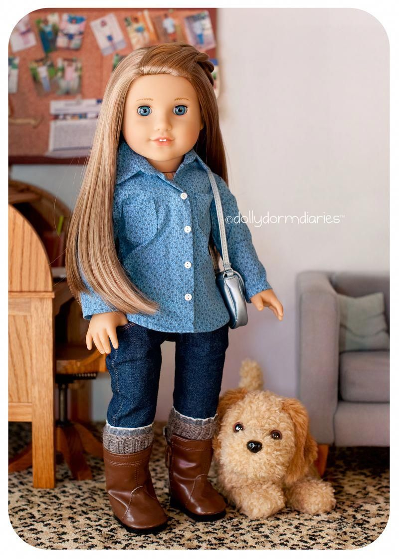 Dolly Dorm Diaries ~ American Girl Doll House Doll Diaries Blog ... #girlcraft #americangirlhouse