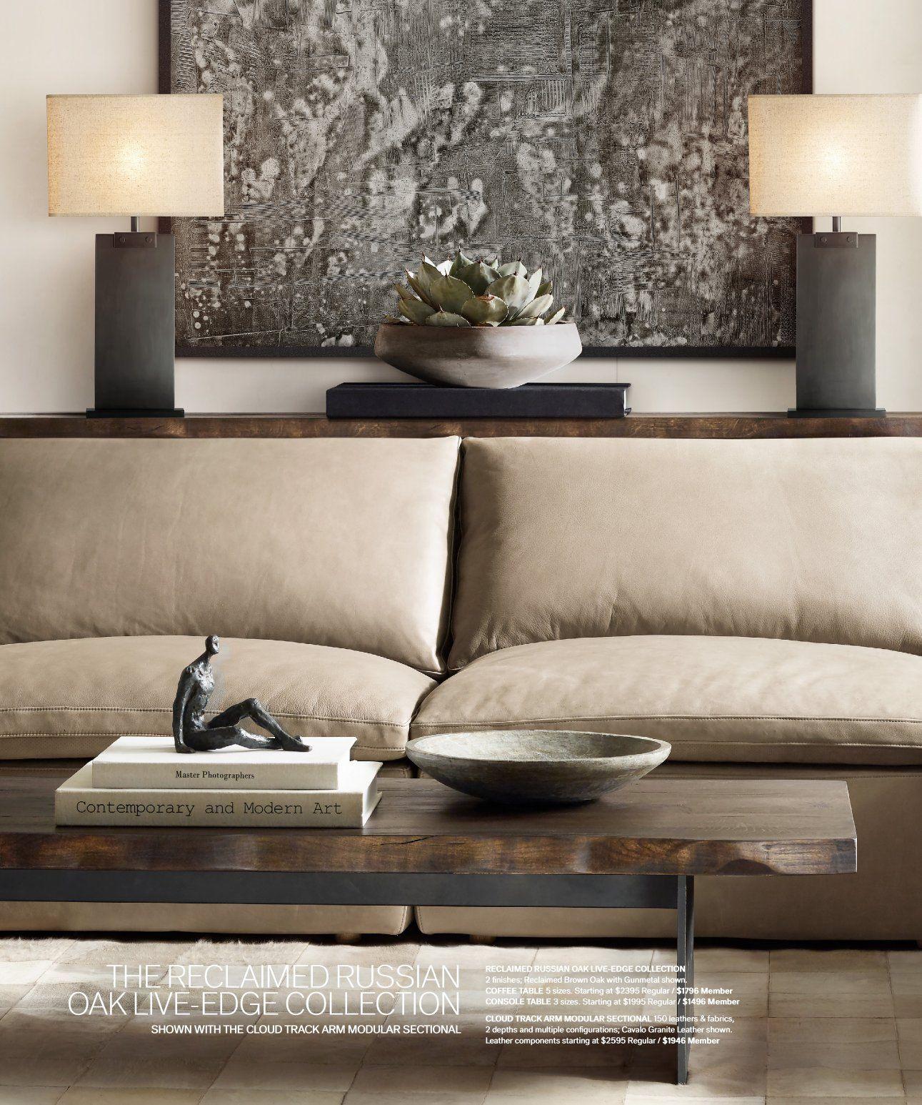 Rh Source Books Home Design Living Room Living Room Decor Modern Living Decor [ 1546 x 1291 Pixel ]