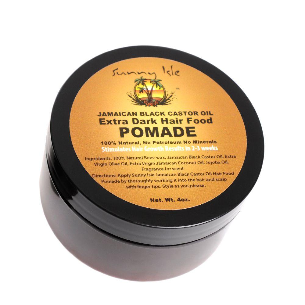 Sunny isle jamaican black castor oil extra dark hair food pomade oz