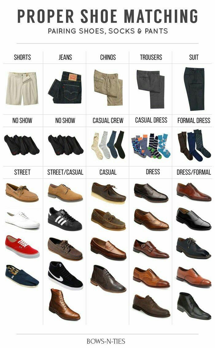 Proper shoe matching | Mens dress shoes