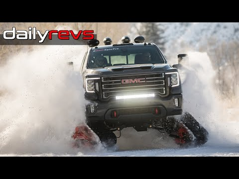 2020 Gmc Sierra Hd All Mountain Concept First Look Dailyrevs