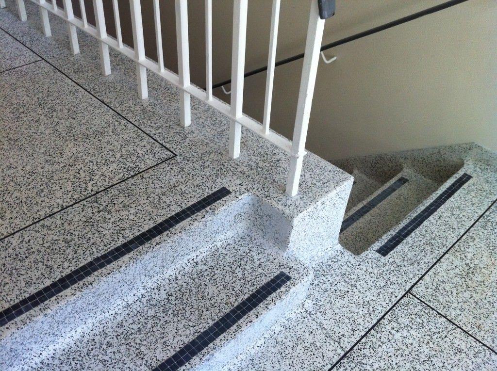 Terrazzo Floor Stair Cleaners Cleaning In 2019 Flooring