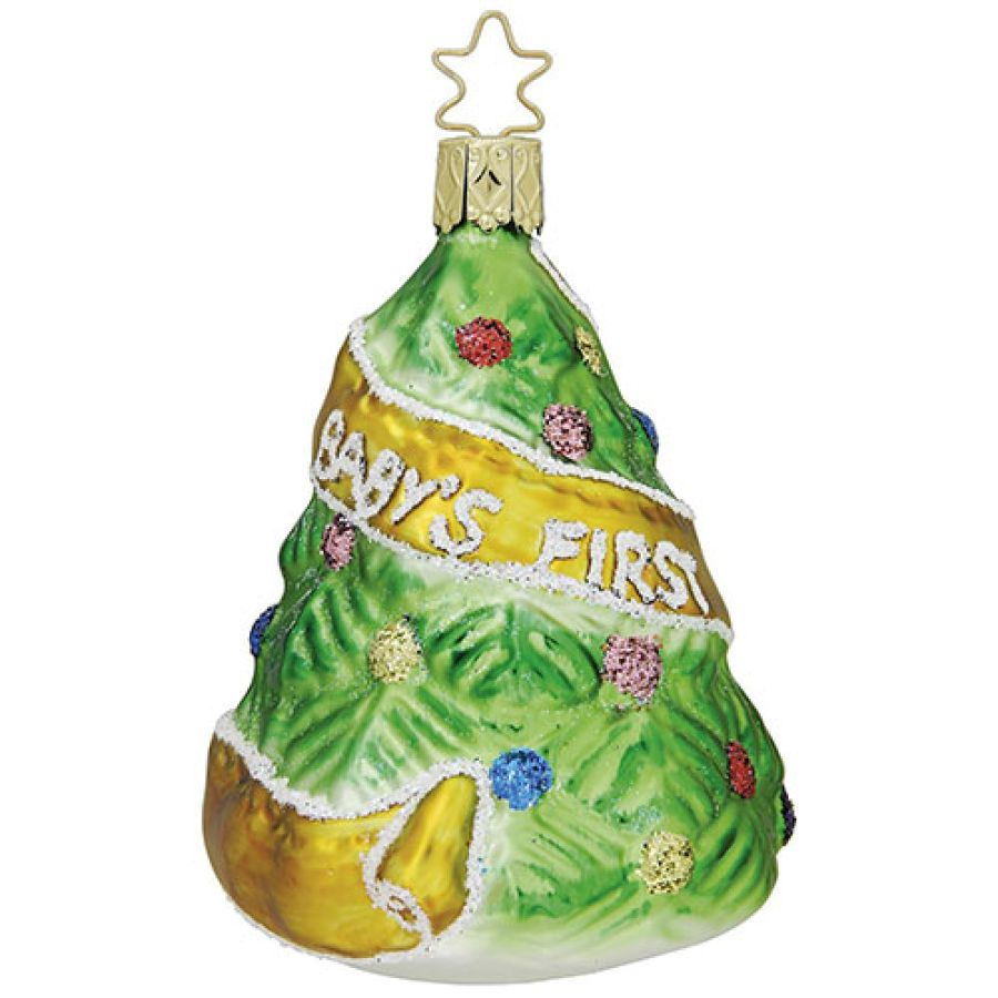 inge glas babys first christmas glass ornament boscovs