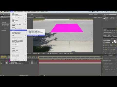 After Effects 3d Camera Tracker To Cinema 4d Youtube After