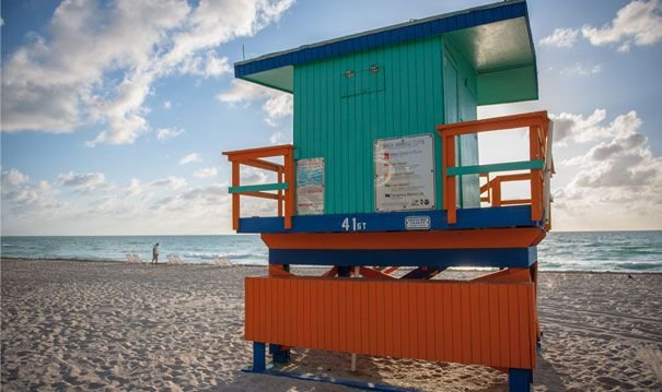 It S So Miami The South Beach Lifeguard Stations Are Working