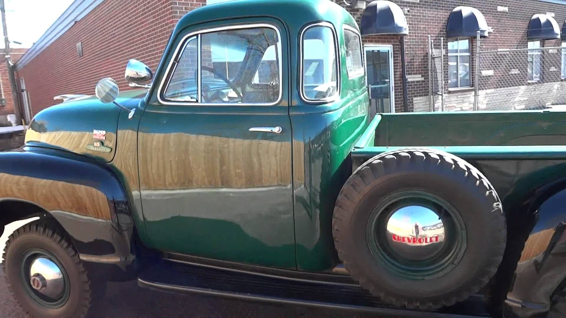 RARE RARE RARE!! 1955 Chevrolet 1st Series 5 Window Napco 4x4 Truck ...