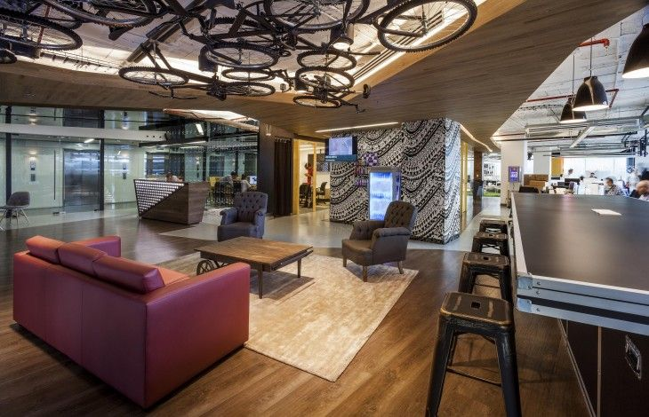Red Bull Office Uffici Pinterest Red bull, Office spaces and - innovatives interieur design microsoft