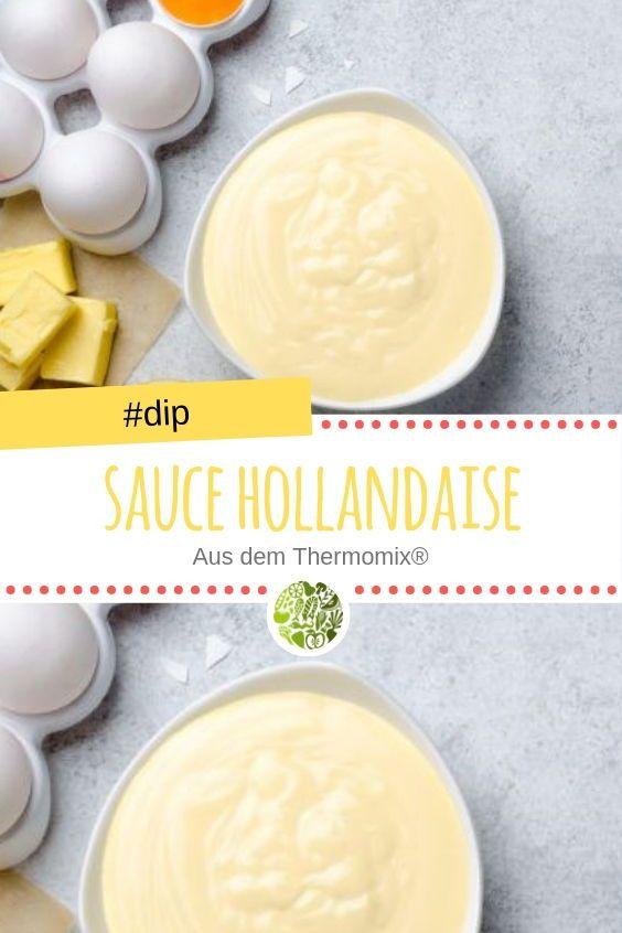 Sauce Hollandaise aus dem Thermomix® #hollandaisesauce