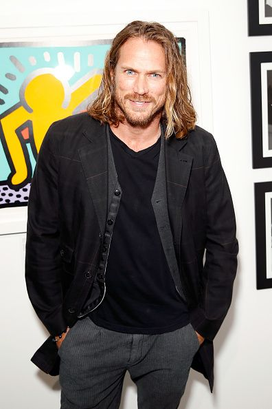 Actor Jason Lewis attends Best Buddies 'The Art of Friendship' Benefit Photo Auction hosted by De Re Gallery on March 3 2016 in West Hollywood...