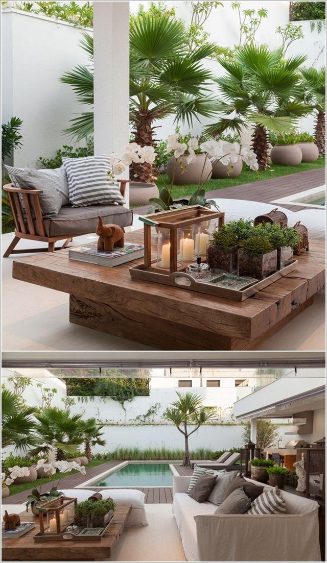 Amazing Interior Design 10 Terrific Patio Table Decor