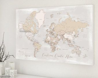 Husband gift push pin map personalized world map by blursbyaishop husband gift push pin map personalized world map by blursbyaishop gumiabroncs Image collections