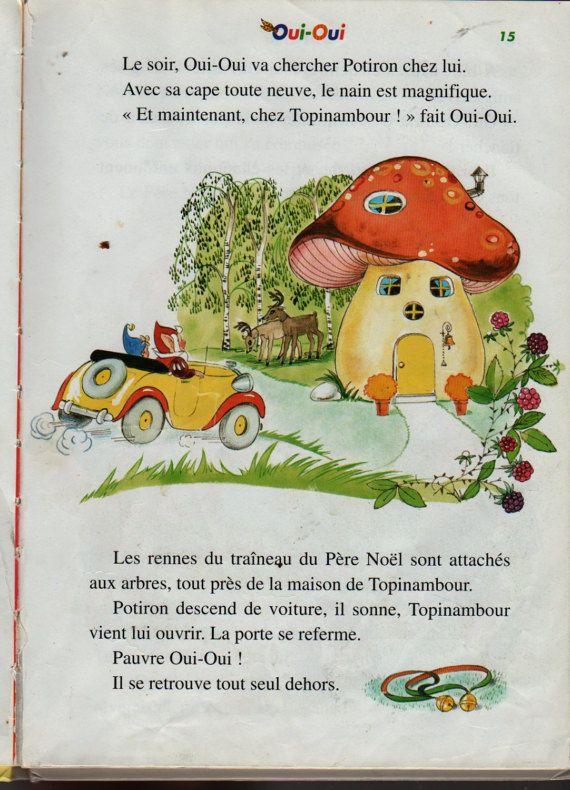 Oui Oui Et Le Pere Noel : Oui-Oui, French, Noddy, Blyton, Jeanne, Père, Noël,, Noel,