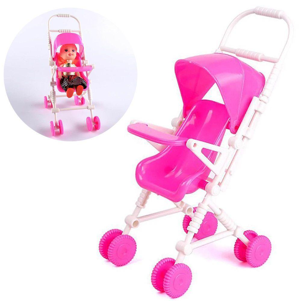 1.43 AUD Diy Baby Buggy Stroller Dollhouse Nursery