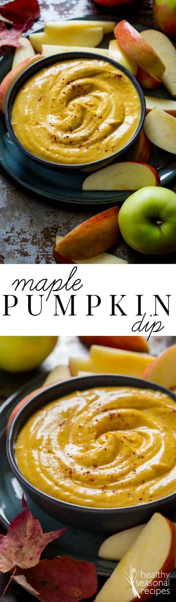 maple pumpkin pie dip