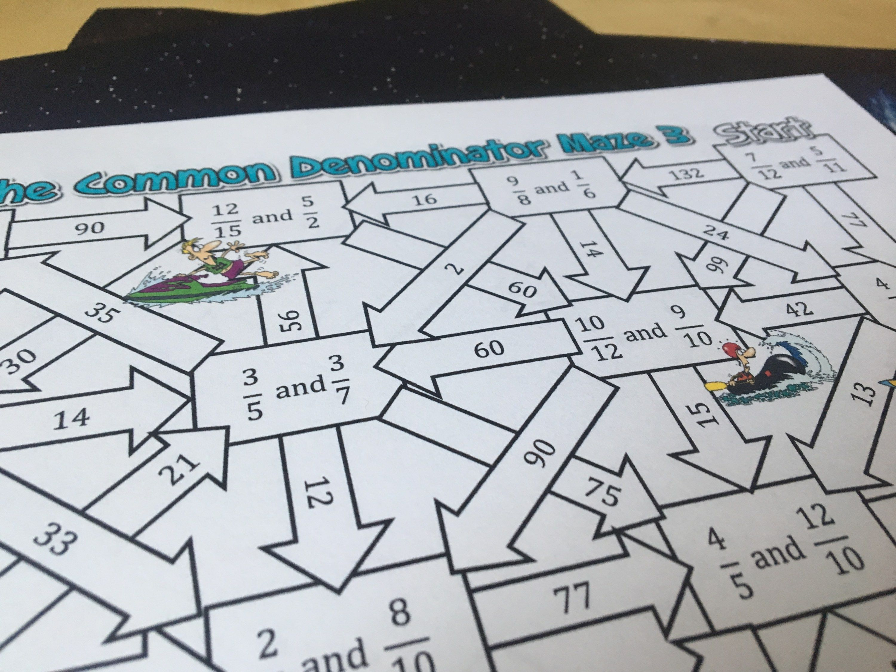 10 Activities To Practice Finding The Common Denominator
