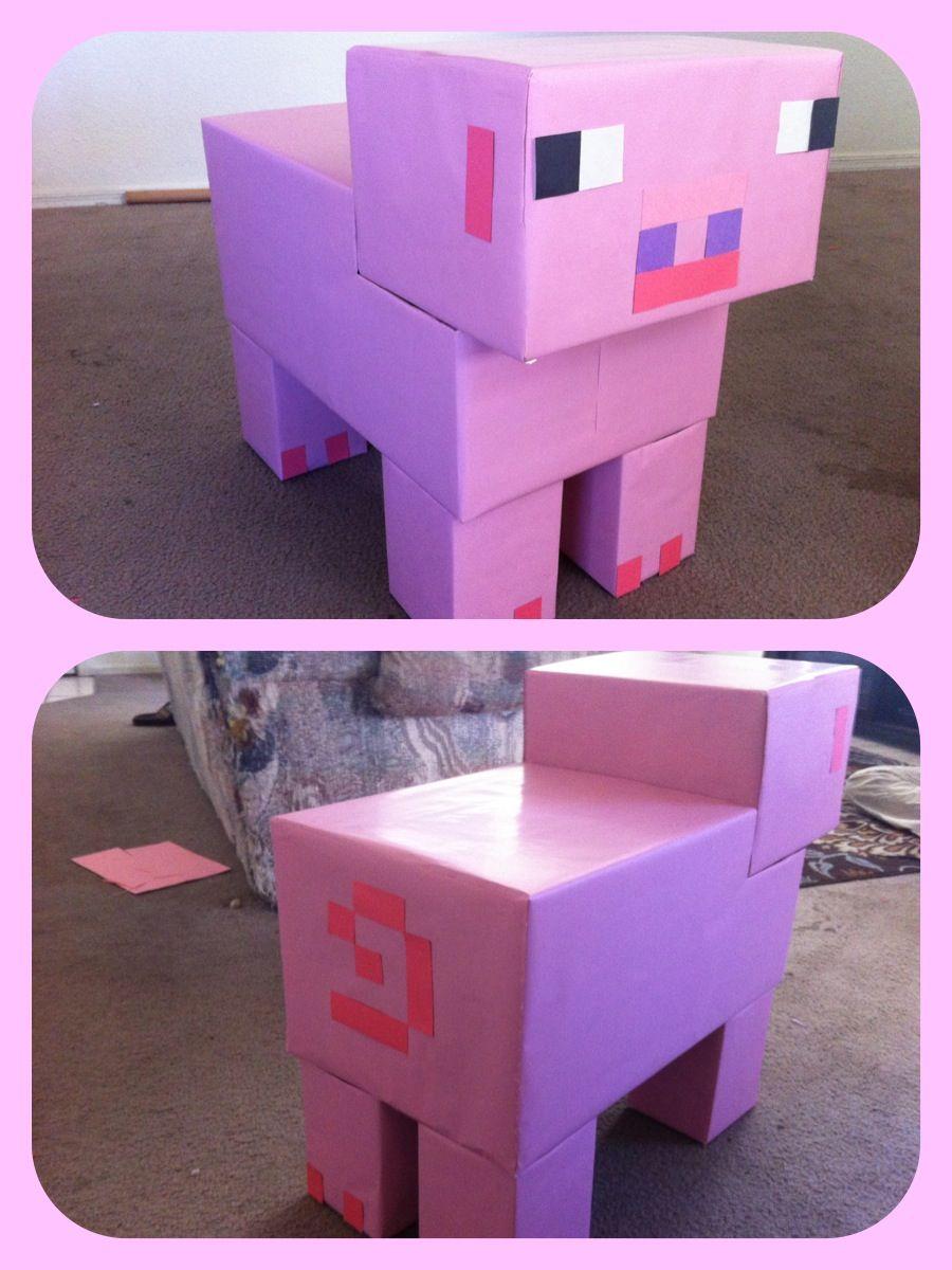 Minecraft Pig Minecraft Party Minecraft Birthday Party