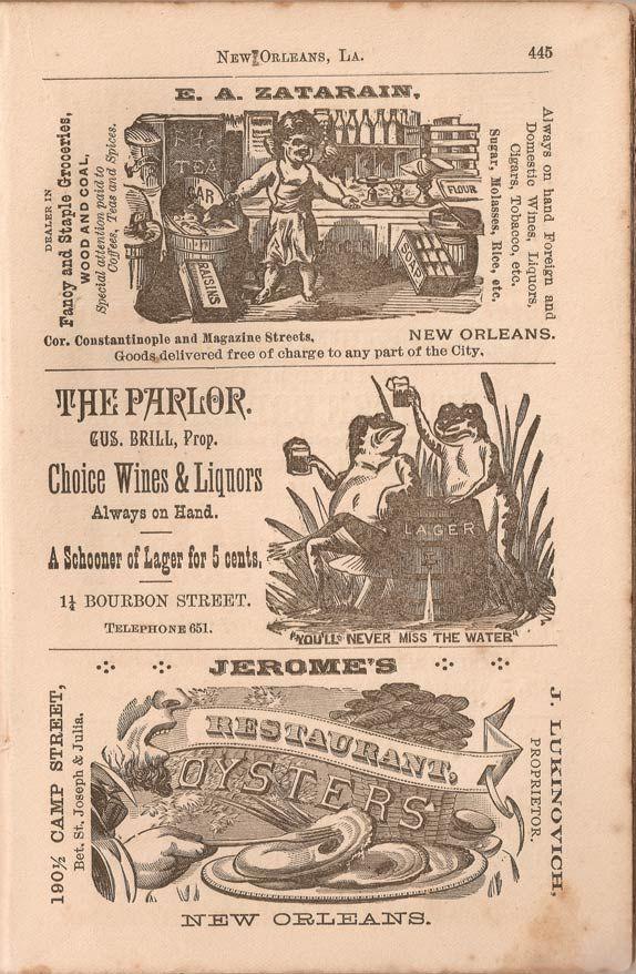 Zatarain-Spice-Company-New-Orleans-1889-Business-Directory   Fanny