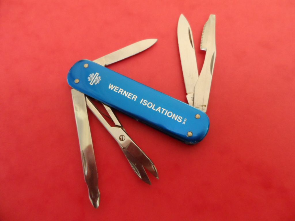 Victorinox Executive Alox Swiss Army Knife 74 Mm Werner
