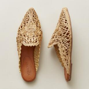 Photo of Vintage Lace Mules