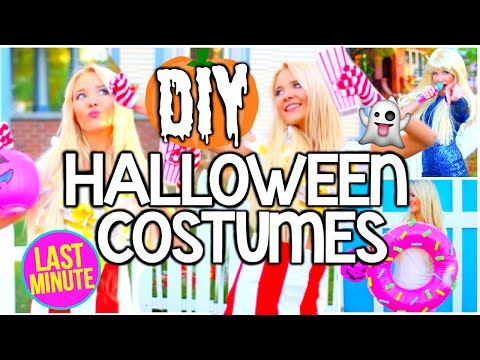 diy last minute easy cheap halloween costume ideas for teens youtube