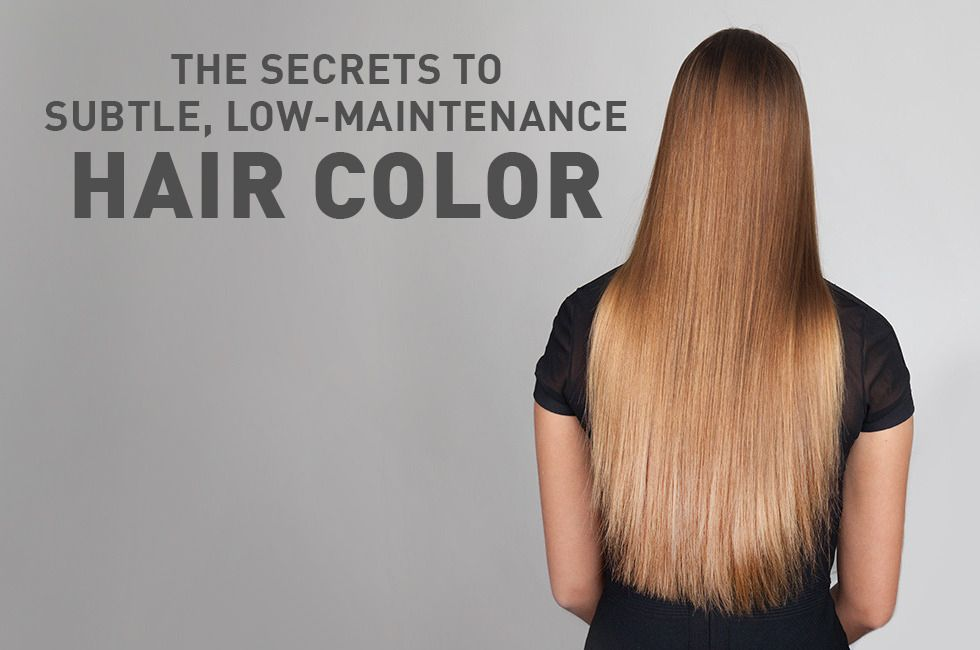 The Secrets to Subtle, Low-Maintenance Hair Color