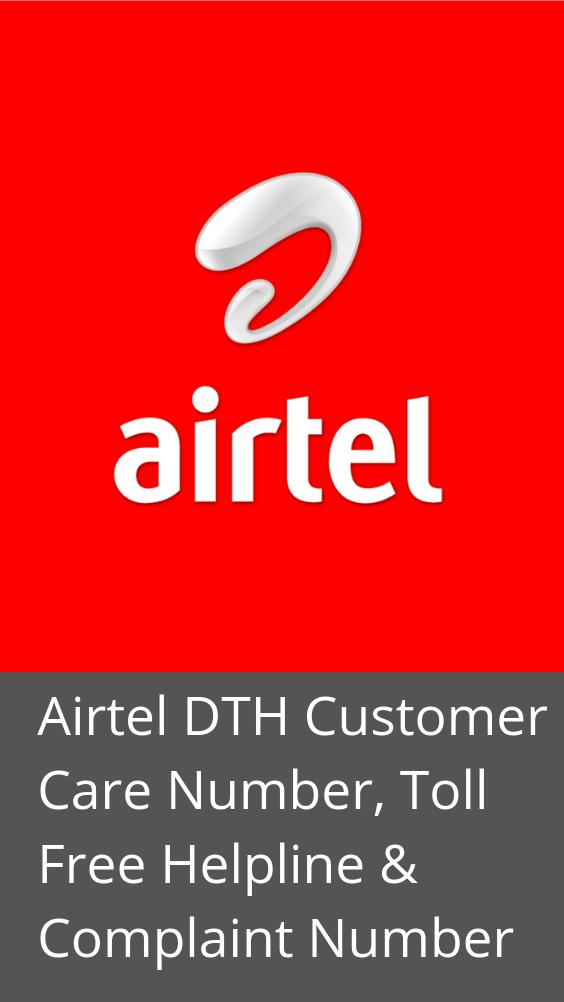 Airtel Digital TV Customer Care Number: Toll Free Helpline