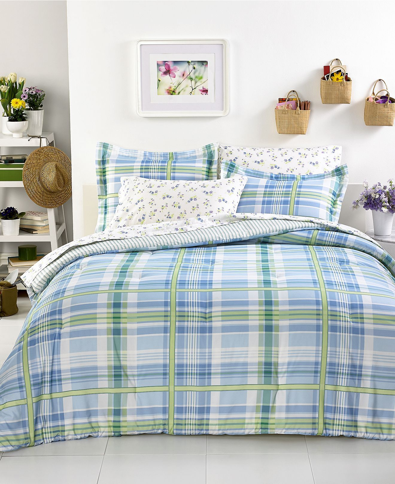 Tommy Hilfiger Bedding Blue Hill forter Sets Bedding