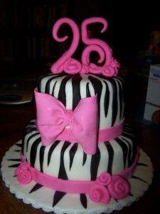 Birthday Cake 25 Years