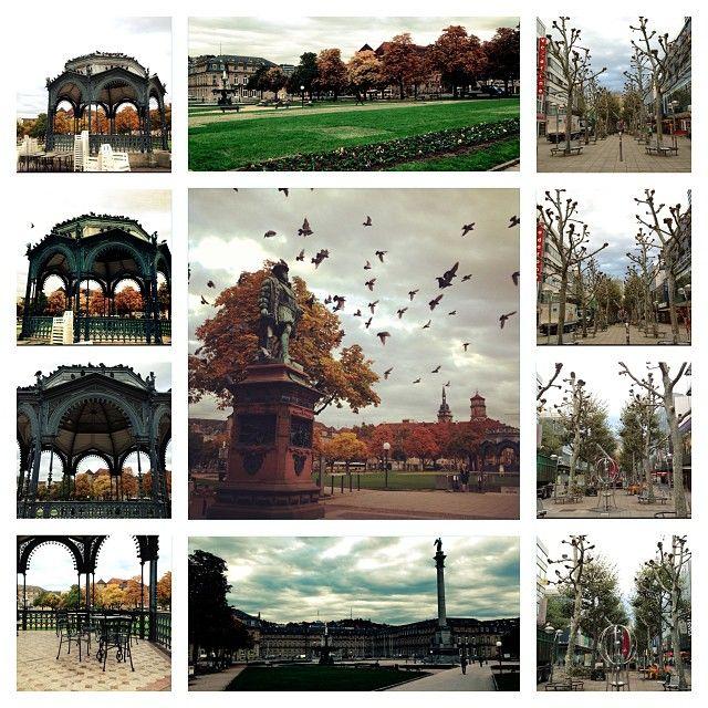 Stuttgart 22/10/2013 #schlossplatz #königstrasse #sonbahar #germany #autumn #badenwürttemberg