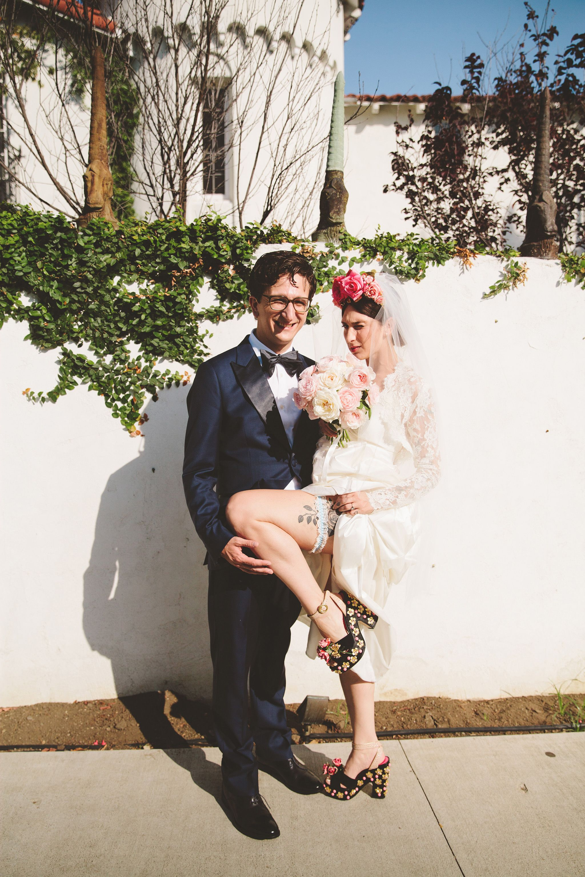 los angeles wedding photographer eclectic hollywood