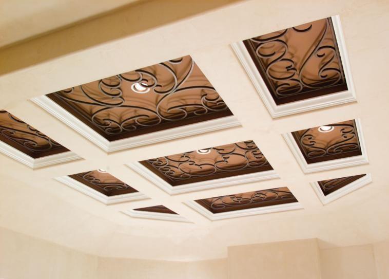 Tableaux faux iron home improvements pinterest fausse et tableau - Tableau plafond ressources caf ...
