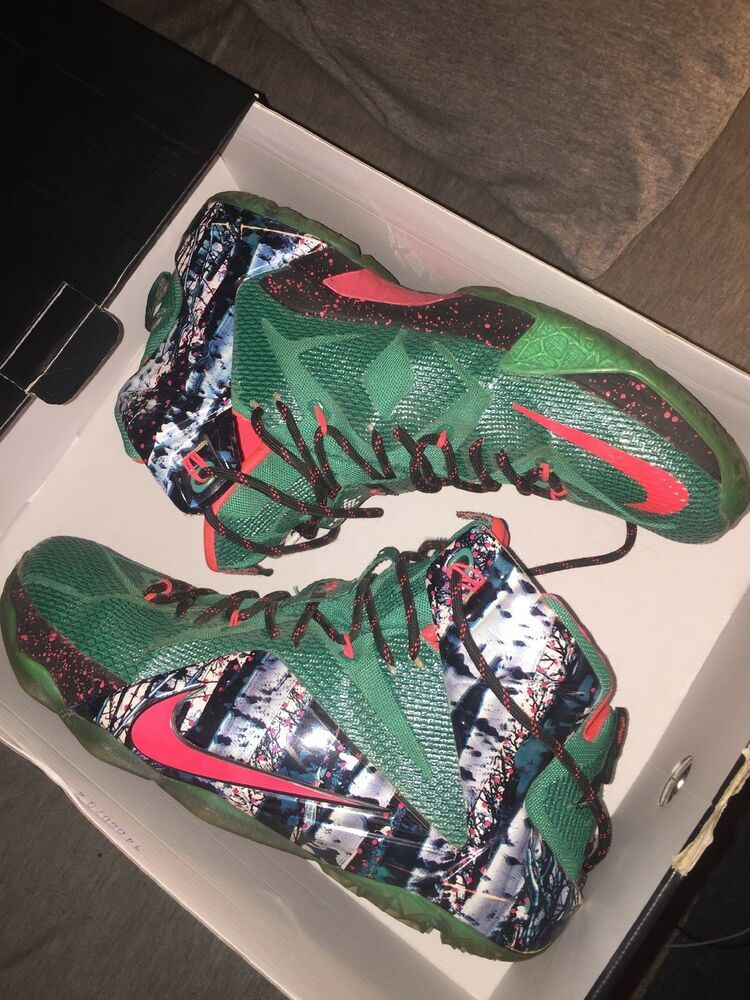a2a18de041f1 Nike Lebron James XII XMAS Edition Mens Size 12  fashion  clothing  shoes   accessories  mensshoes  athleticshoes (ebay link)