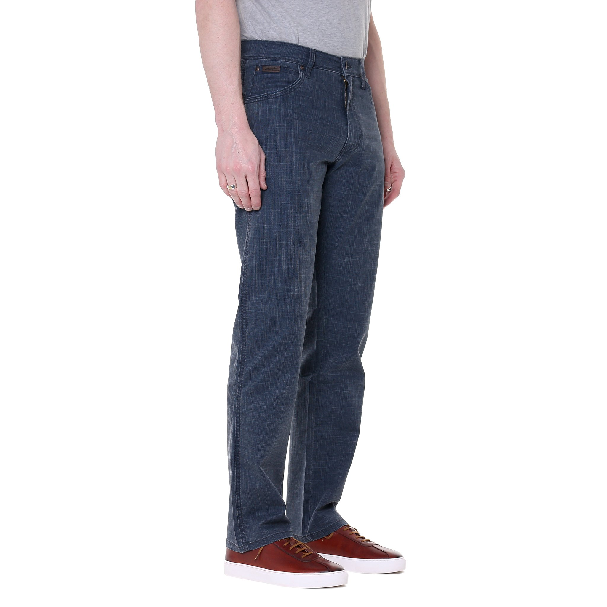 to 42 in. MENS WRANGLER CHINO JEANS SOFT STRAIGHT LEG VINTAGE SIZE 28 in