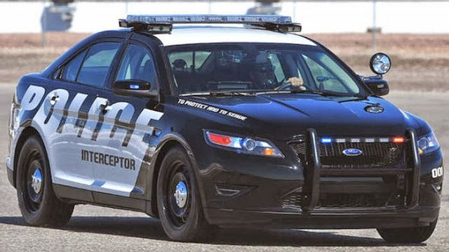 Ford Taurus The Fastest Police Car Ford Police Police Cars