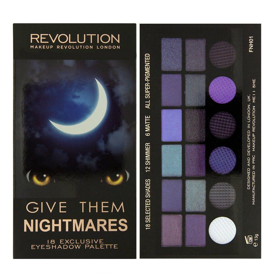 Salvation Palette Give Them Nightmares MAKEUP REVOLUTION