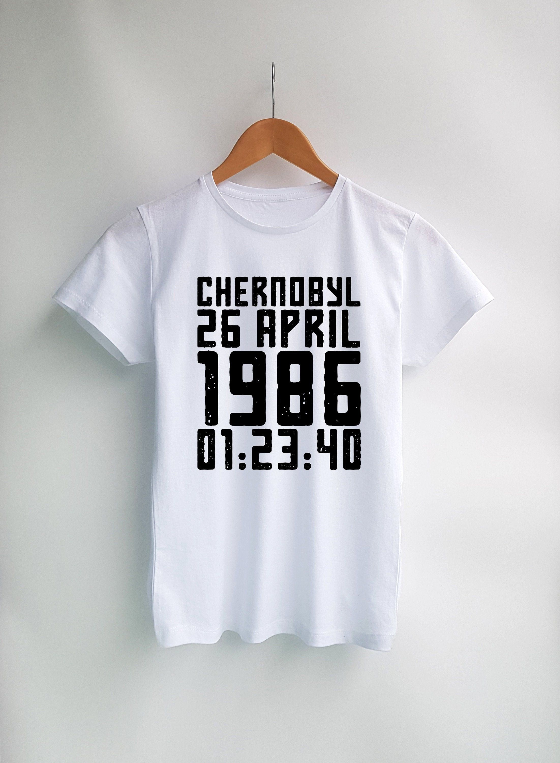 Chernobyl Shirt Pripyat Tv Series Chernobyl Printed Shirts