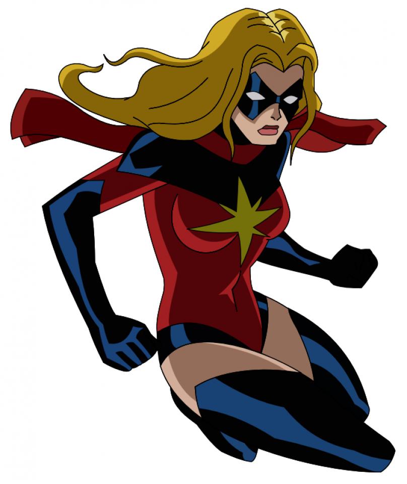 captain marvel cartoon