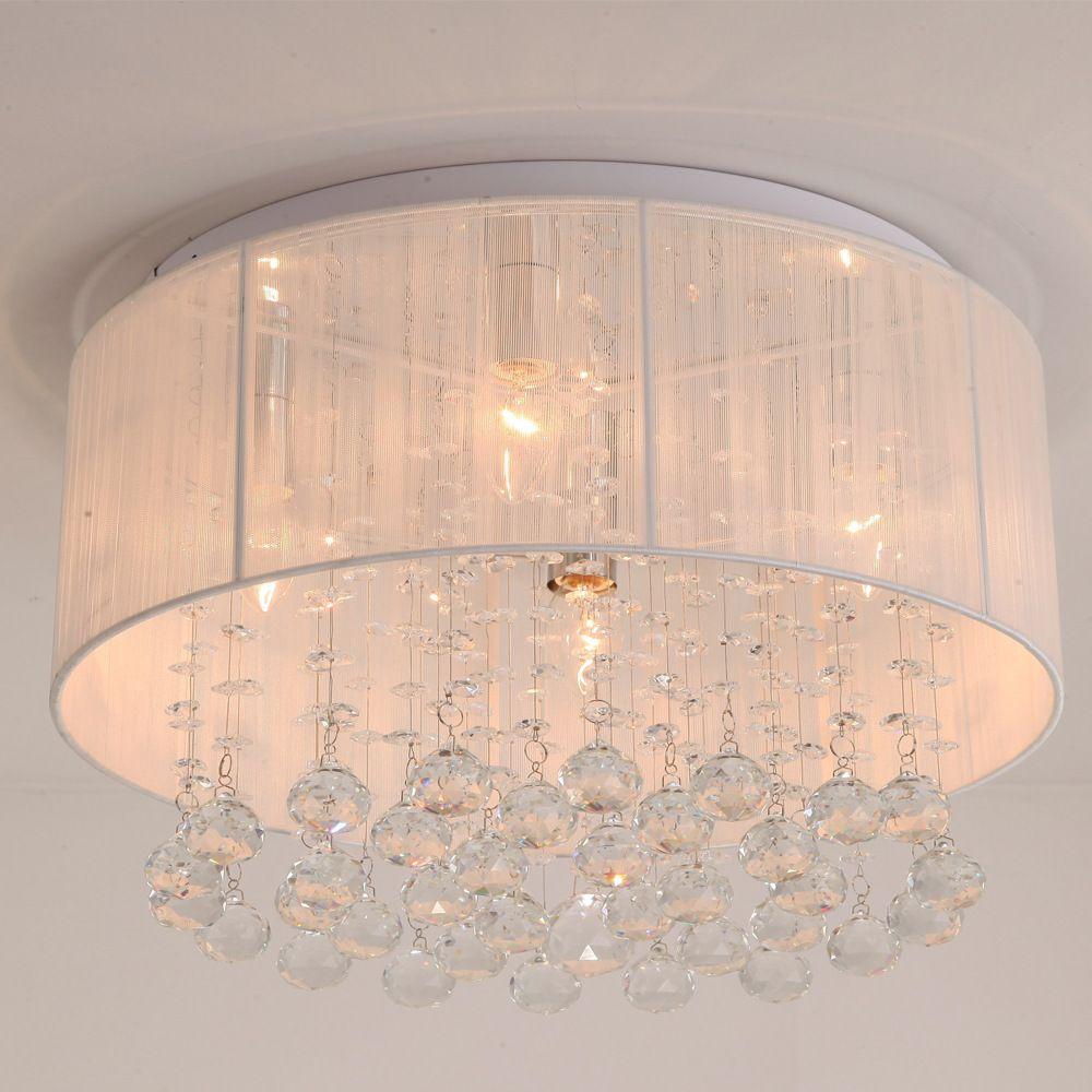 crystal ceiling lights for home lighting bathroom living room rh pinterest ca