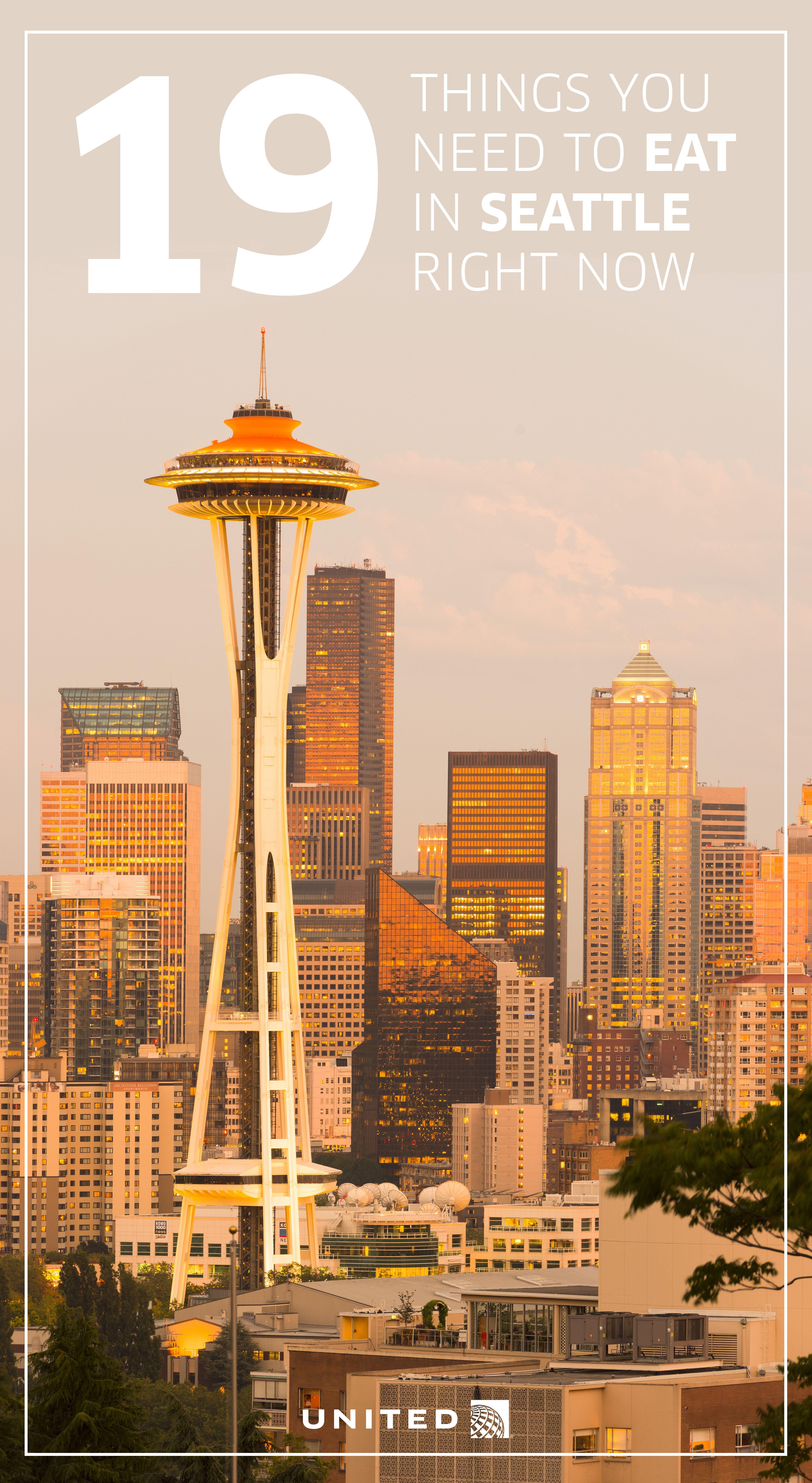 Foodie travel guide to Seattle Washington foodietravelusa