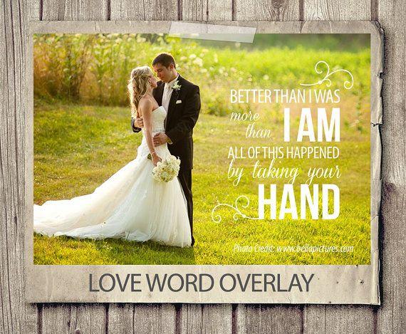 Wedding Quote Word Overlay Love By Studiotwentynine 2 50