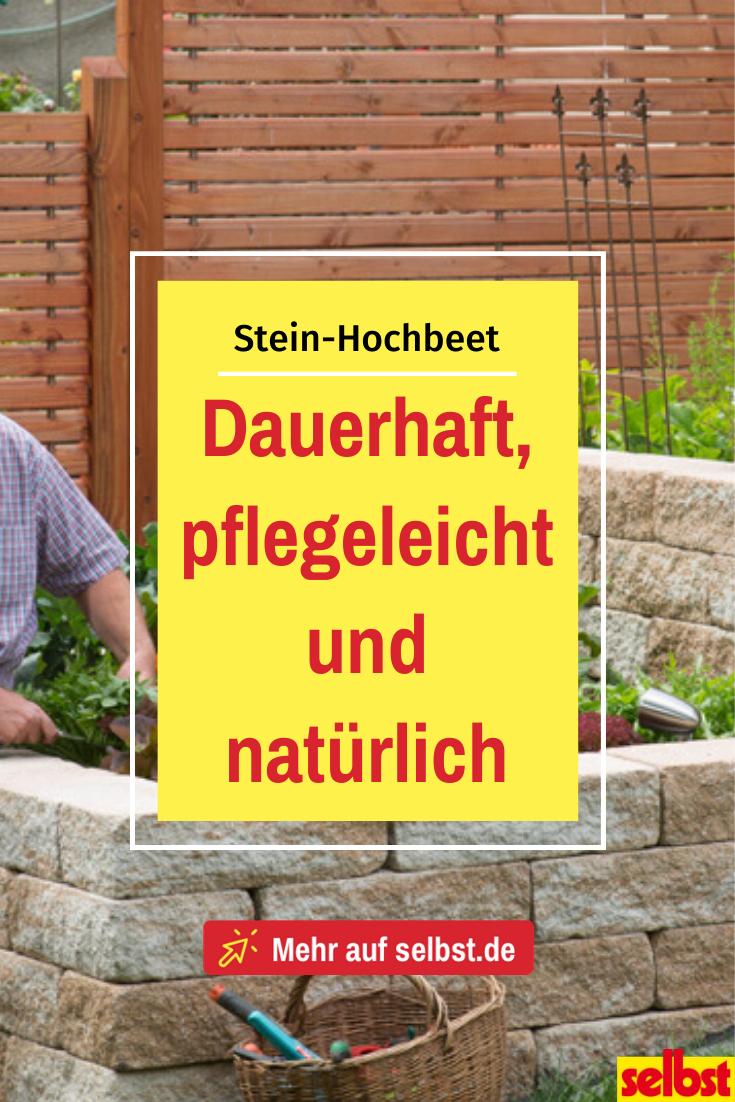 Stein Hochbeet Selbst De In 2020 Hochbeet Steinhochbeet Hochbeet Selber Bauen