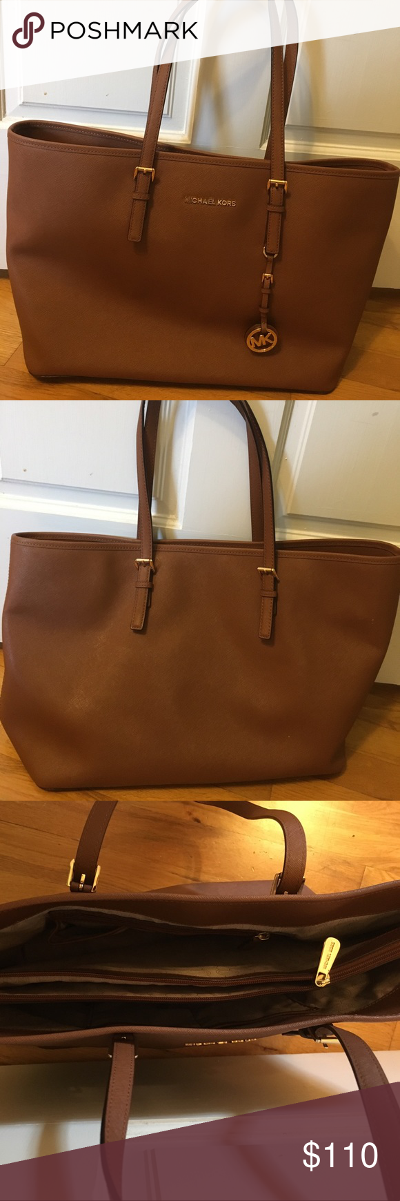 Michael Kors Jet Set Travel Large Saffiano Leather Excellent Condition Rarely Used Bags