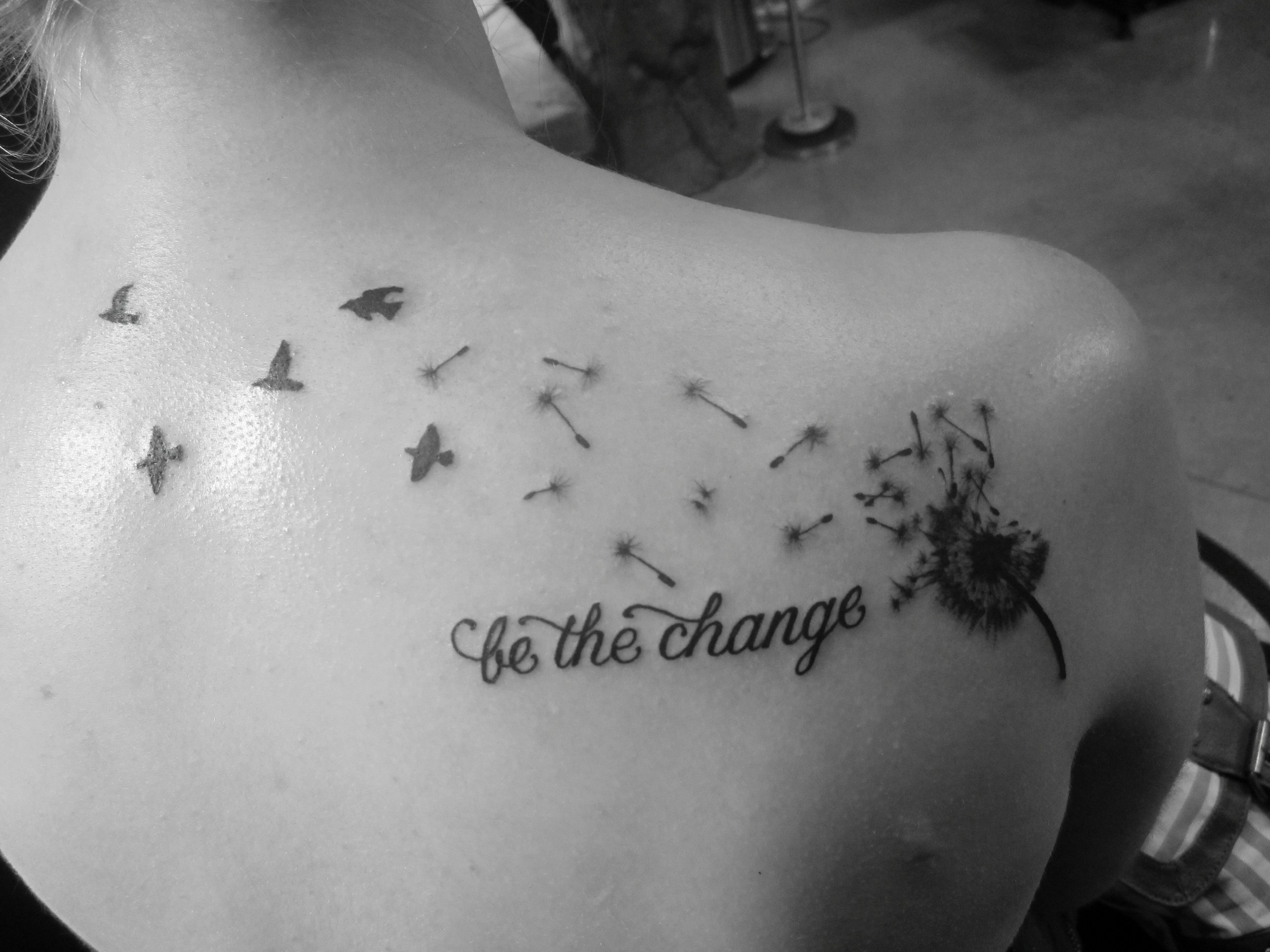 my dandelion tattoo be the change tattoo pinterest dandelions tattoo and change tattoo. Black Bedroom Furniture Sets. Home Design Ideas