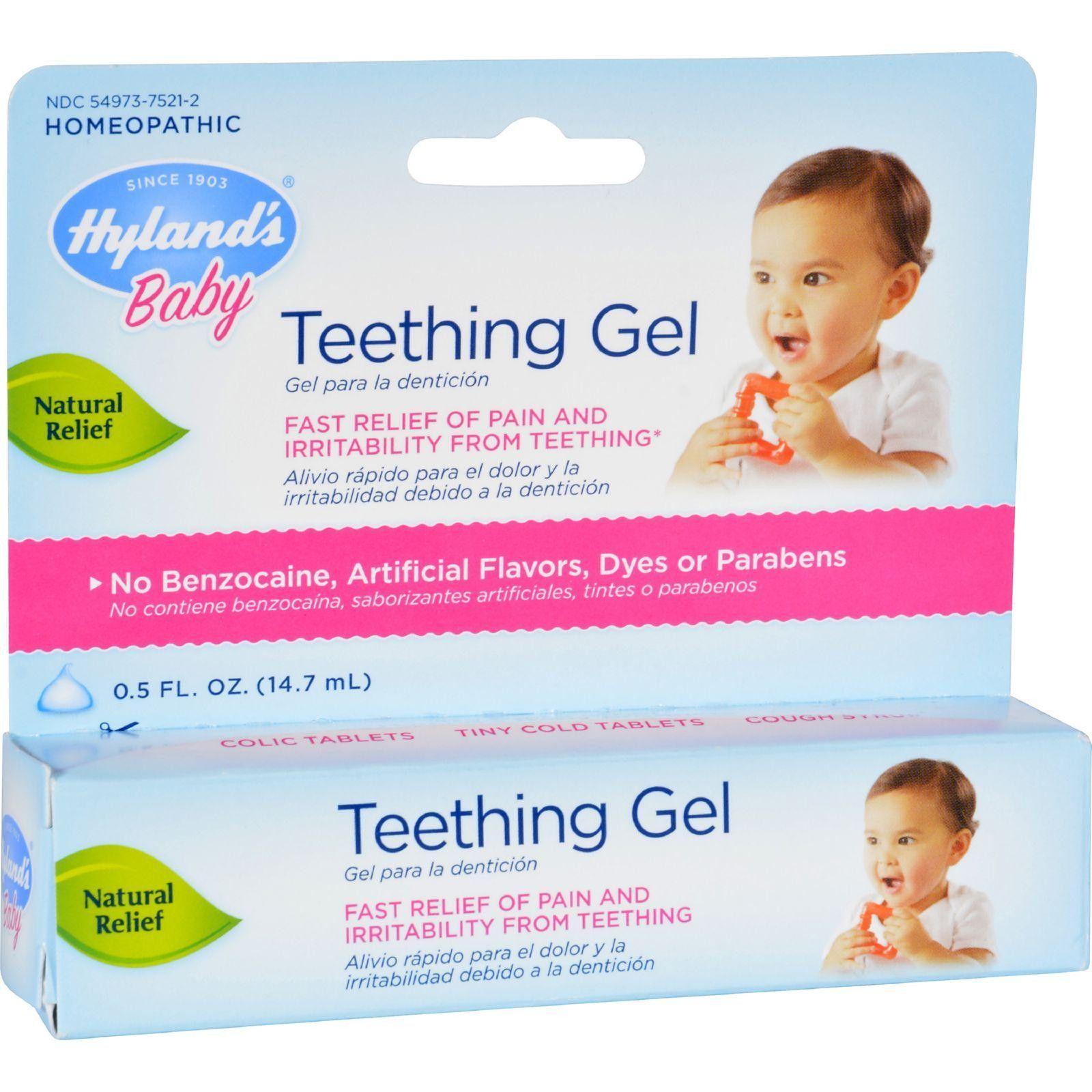 baby teething gel 05 oz