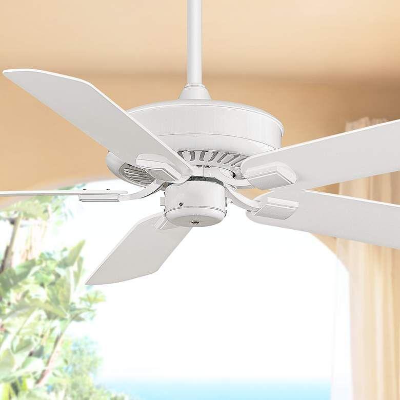 50 Fanimation Edgewood White Wet Ceiling Fan T3116 Lamps Plus Ceiling Fan Ceiling Fanimation